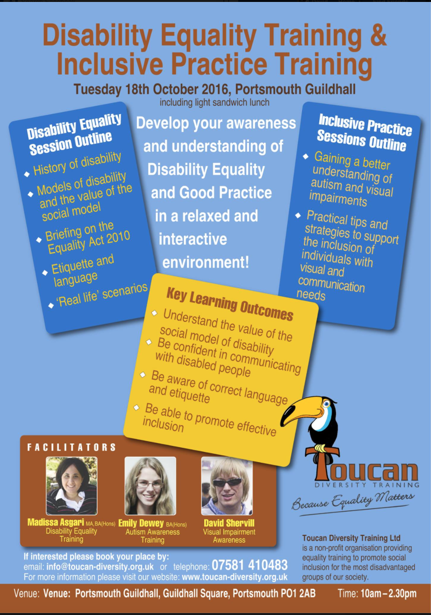 inclusive practice promotes equality and supports